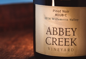 2016 Pinot Noir #Dub-C