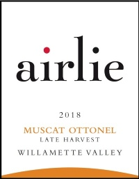 2018 Late Harvest Muscat Ottonel - Dessert