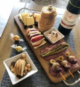 Cheese Plate - with meat or hummus