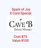 Spark of Joy E-Card Special, Cost $75, Value $100