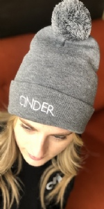 Cinder Pom-Pom Beanie