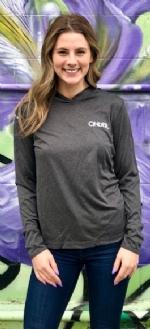 Cinder Heather UV Hoodie (W)