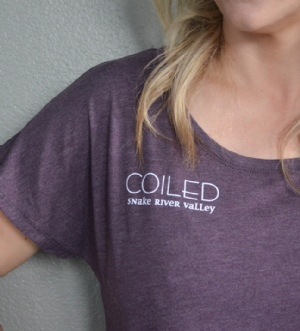 Coiled SS T-Shirt- Womens
