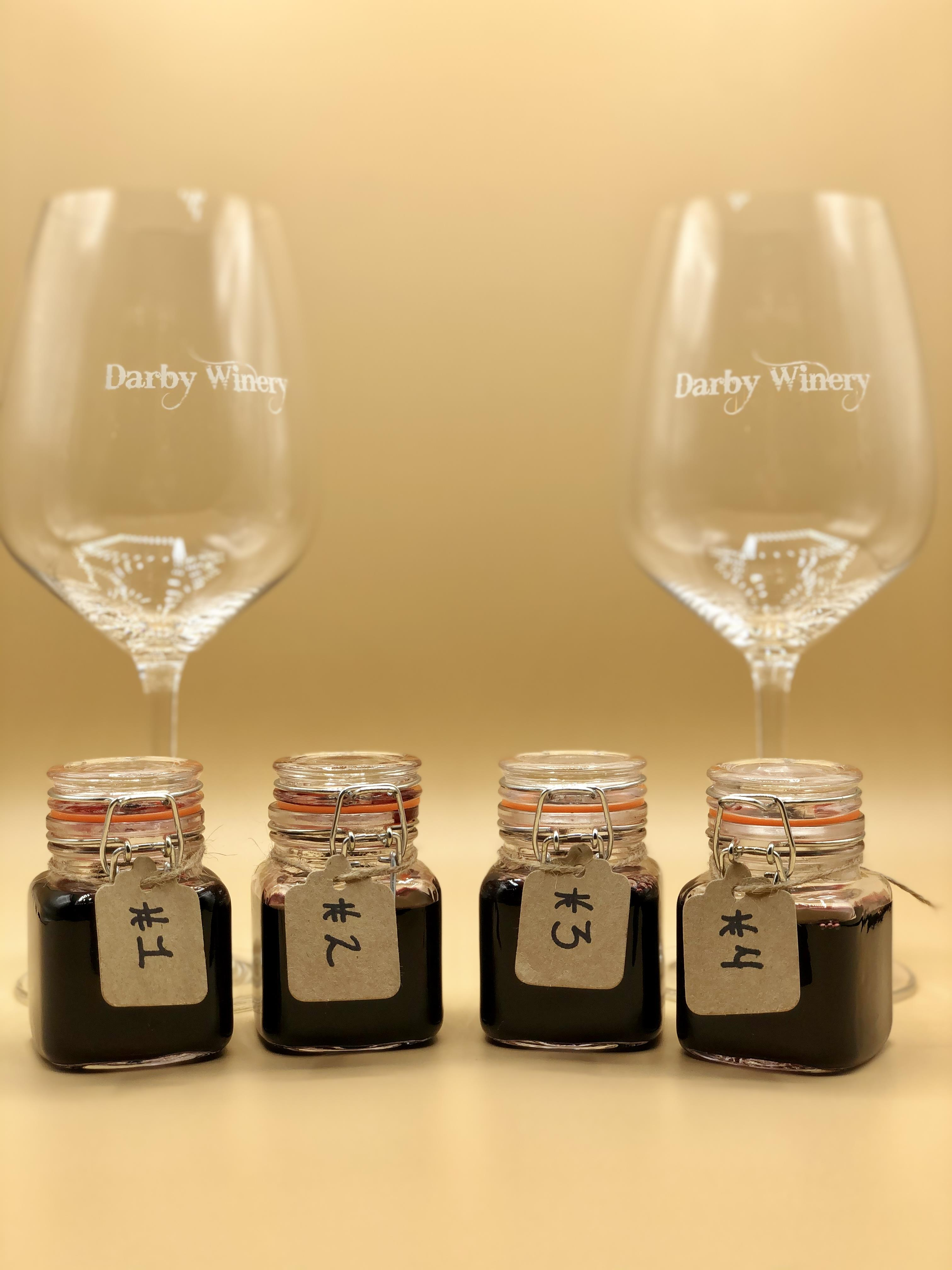 Darby At Home Tasting Kit With Glasses