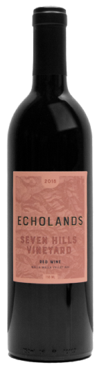 Echolands Winery Seven Hills Vineyard Red Blend 2018 Walla Walla Valley
