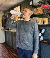 Eleven logo water bottle