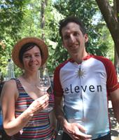 Eleven logo bike jersey
