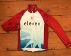 Eleven logo bike jacket