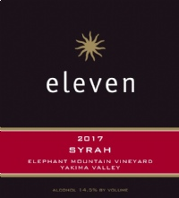 2017 Syrah - Elephant Mountain Vineyard