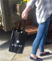 Eleven 4 bottle logo bag