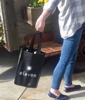 Eleven 4 bottle logo bag