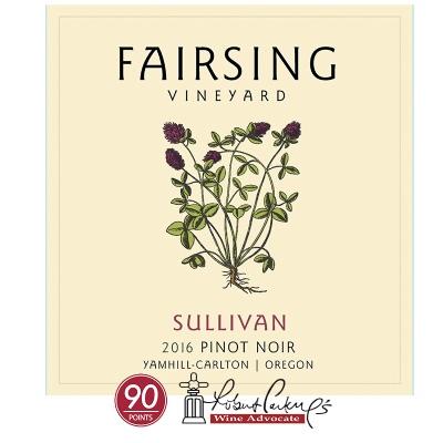 2016 Pinot noir Sullivan  1.5