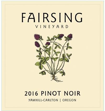 2016 Pinot noir Estate 1.5