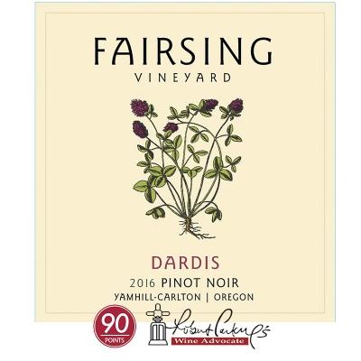 2016 Pinot noir Dardis