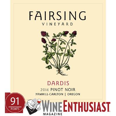 2014 Pinot noir Dardis 1.5