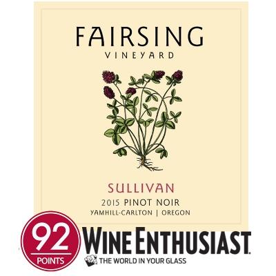 2015 Pinot noir Sullivan  1.5