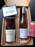 GIFT PACK: 2 Square Gård Tumblers + 2019 Grand Klasse Reserve Rosé