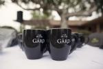 Gård Solid Black Coffee Mugs