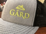 Gård Trucker Hat- Light Grey/Black