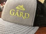 Gård Trucker Hat- Light Grey/Black