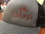 Gård Trucker Hat- Dark Grey/Black