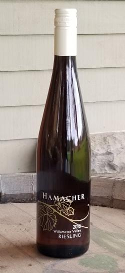 2016 Hamacher Riesling