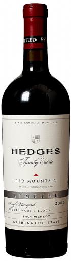2003 Hedges Family Estate Single Vineyard Limited Merlot
