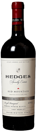2003 Hedges Family Estate Single Vineyard Limited Merlot