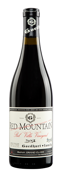 2014 GOEDHART FAMILY RED MOUNTAIN SYRAH
