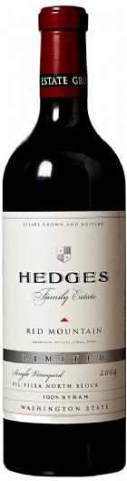 2004 Hedges Family Estate Single Vineyard Limited Syrah