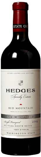 2004 Hedges Family Estate Single Vineyard Limited Syrah