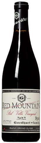2013 GOEDHART FAMILY RED MOUNTAIN SYRAH