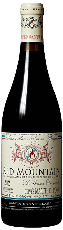 2013 Descendants Liegeois Dupont Red Mountain Syrah