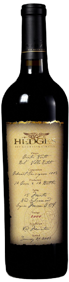 2000 Single Vineyard Limited Cabernet Sauvignon