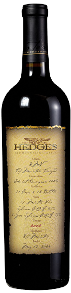2002 Single Vineyard Limited Cabernet Sauvignon