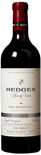 2004 Hedges Family Estate Single Vineyard Limited Merlot