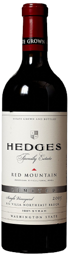 2005 Hedges Family Estate Single Vineyard Limited Syrah