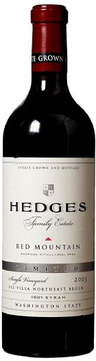 2005 Hedges Family Estate Single Vineyard Limited Syrah