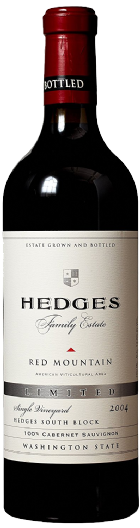2004 Hedges Family Estate Single Vineyard Limited Cabernet Sauvinon