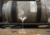Joyce Crest Wine Glass