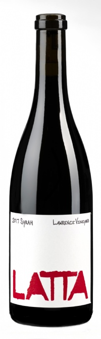 2017 Latta Wines Syrah Lawrence Vineyard