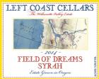 2014 Field of Dreams Syrah, 750ml