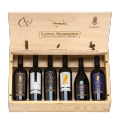 Vintners Collection 6 Bottle Wood Box Set