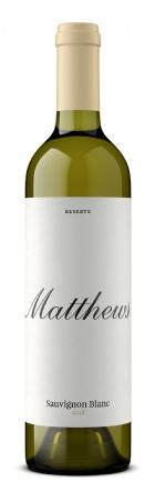 2019 Matthews Reserve Sauvignon Blanc