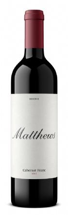 2017 Matthews Reserve Cabernet Franc