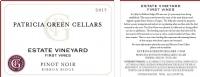 2017 Estate Vineyard, First Vines Pinot Noir