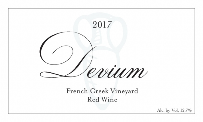 2017 Devium French Creek Red