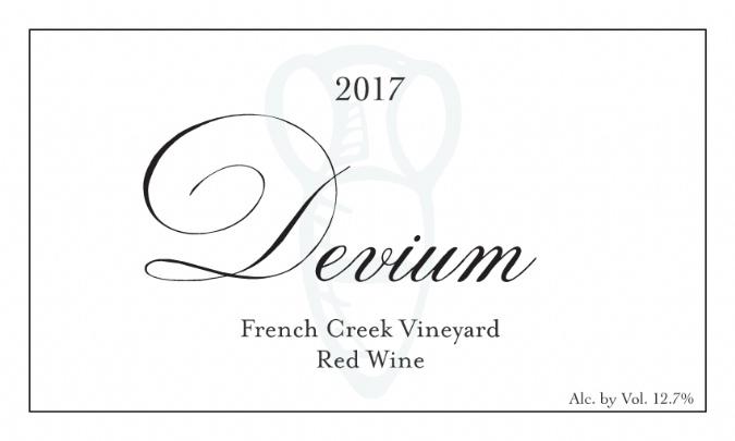 2017 Devium French Creek Vineyard Magnum