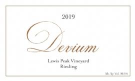2019 Devium Lewis Peak Riesling