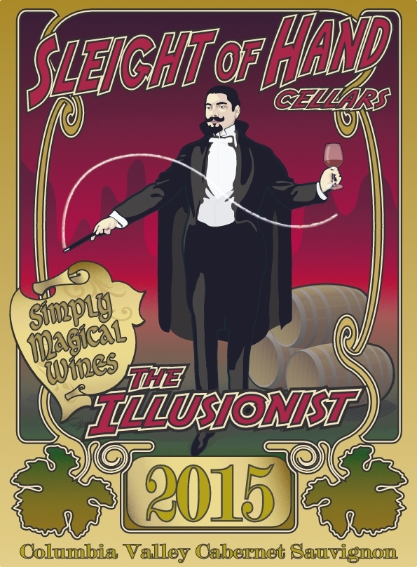 "2015 ""The Illusionist"" Cabernet Sauvignon 750 mL"